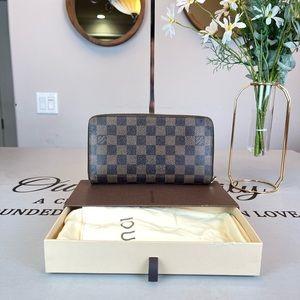 Louis Vuitton Damier Ebene Wallet Purse